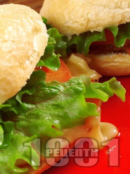 Сандвичи с Чедър и филе Елена - снимка на рецептата